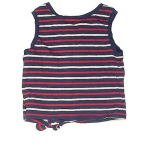 GAP Shirts & Tops - GAP Toddler Cropped 4th of July USA Tank Top 4-5